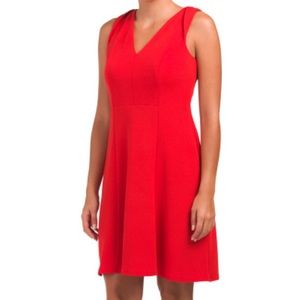 NWT  LONDON TIMES Fit And Flare Mini Dress 10